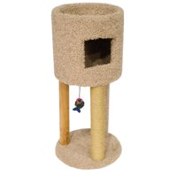 Ware 01171 Kitty Condo with Playground, Multi-Color, Boxed