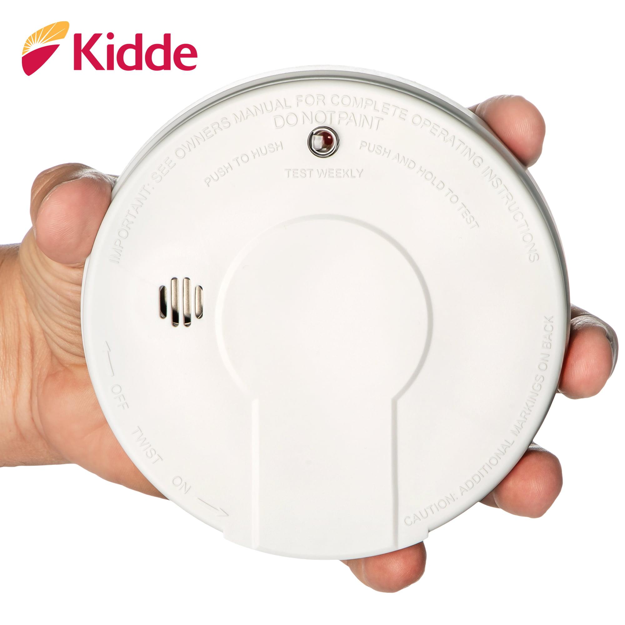 Kidde Fyrewatch 0913 9v Battery Operated Smoke Alarm Walmart Com