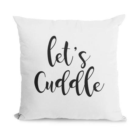 Bear Cuddle Pillow - Bonnie Jeans Homestead Prints Let's Cuddle Pillow Cover (Oatmeal, 18x18)