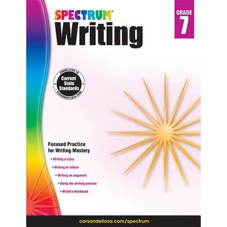 Spectrum Writing, Grade 7](Halloween Writing Ideas For Grade 1)