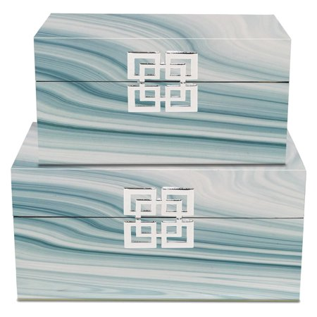 Three Hands 2 Piece Decorative Box Set