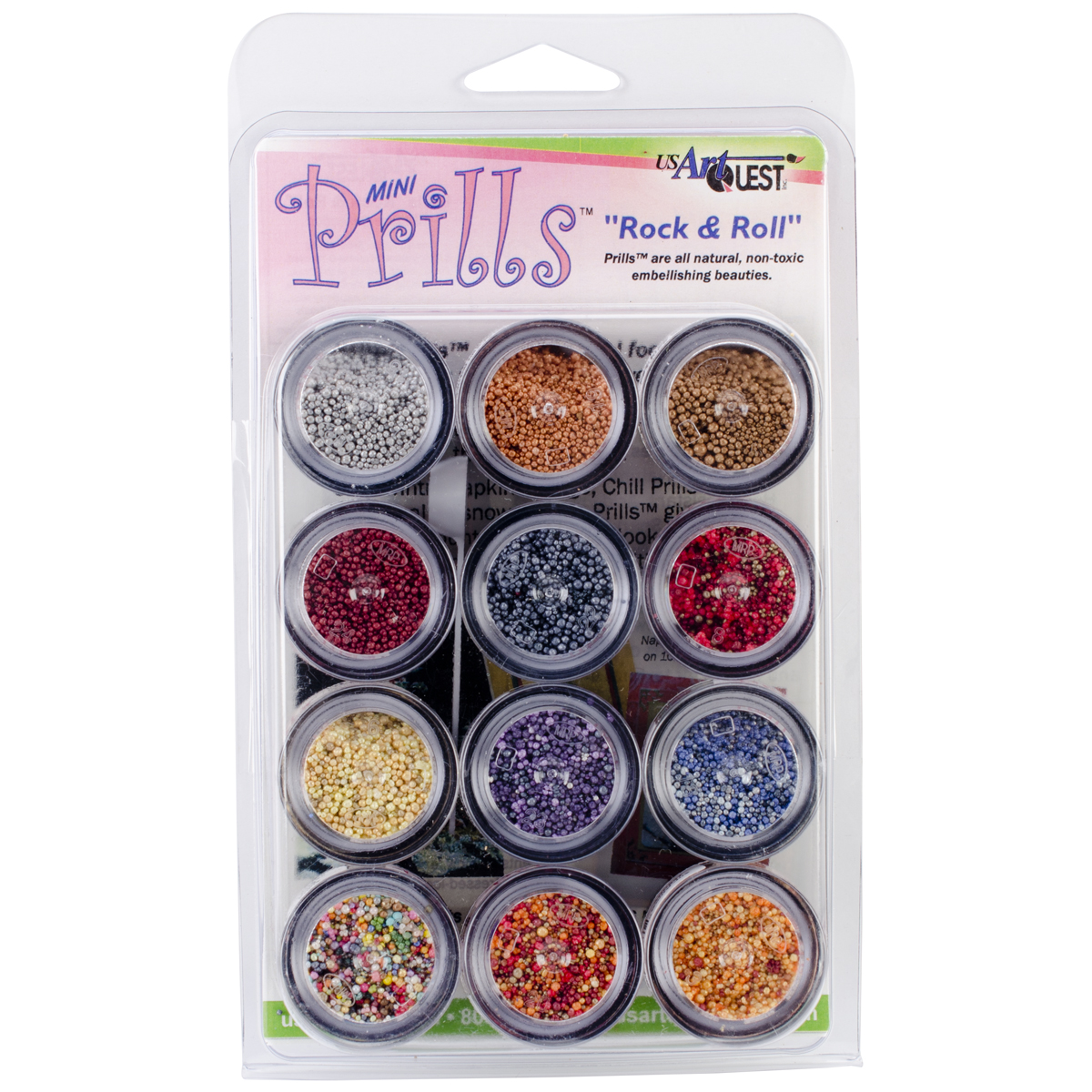 Mini Prills Collection, 3g, 12pk, Rock N' Roll