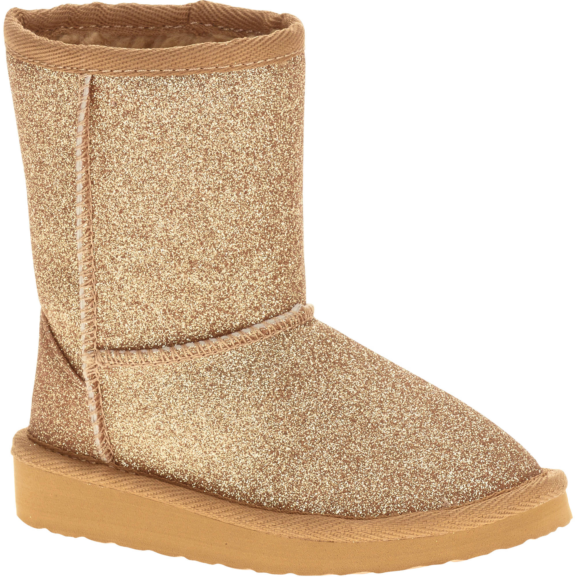 Garanimals Toddler Girl's Sparkle Lug Boot - Walmart.com