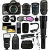 """Canon EOS 5DS DSLR SLR Digital Camera + 70-300mm IS USM + 6.5mm Fisheye + 24-105 STM + 650-2600mm Lens + Filters + 128GB Memory + Action Stabilizer + i-TTL Autofocus Flash + Case + 70  Tripod + More The EOS 5DS DSLR Camera from Canon is the long-awaited follow-up to the vaunted 5D Mark III and brings with it new technology and a number of significant upgrades, placing it in very lofty territory for a DSLR. Featuring a full-frame 50.6 MP CMOS sensor, the camera captures ultra-high resolution images suitable for large-scale printing and extensive, creative cropping.<br><br><b>What's in the box:</b><br><br>Canon EOS 5DS DSLR Camera (Body Only)<br>LP-E6N Lithium-Ion Battery Pack (7.2V, 1865mAh)<br>LC-E6 Charger for LP-E6 Battery Pack<br>IFC-150U II USB 3.0 Interface Cable for EOS 7D Mark II DSLR<br>Eyecup Eg<br>RF-3 Camera Cover<br>Wide Strap EW-EOS5DSR<br>EOS DIGITAL Solution Disk<br>Limited 1-Year Warranty<br><br><b>47th Street Photo Accessories:</b><br><br>Opteka 6.5mm f/3.5 HD Aspherical Fisheye Lens with Hood<br>Canon EF 24-105mm f/3.5-5.6 IS STM Lens<br>Canon EF 70-300mm f/4-5.6 IS USM Lens<br>Opteka 650-1300mm HD Telephoto Zoom Lens<br>Opteka High Definition 2X Telephoto Converter<br>Opteka 2.2x High Definition II Telephoto Lens<br>Opteka 0.43x High Definition II Wide Angle Lens<br>Professional 3 Piece Filter Kit (UV-CPL-FLD)<br>Deluxe Digital Camera Padded Carrying Case (Large)<br>64GB High Speed Class 10 Memory Card (2)<br>Memory Card Wallet<br>High Speed SD/SDHC/Micro SD Reader/Writer<br>Opteka Wireless Shutter Remote Control<br>Opteka X-GRIP Professional Action Stabilizing Handle<br>Opteka EF-790 DG Super TTL Flash<br>Professional Sling SLR Backpack<br>Opteka 67"""" MP100 Aluminum Monopod<br>Opteka OPT7000 70-inch Professional Tripod<br>Small Mini Tabletop Tripod<br>Lens Cleaning Kit<br>$50 Promo Code for Digital Photo Prints<br>47th Street Cleaning Cloth<br>"""