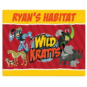 """Personalized Wild Kratts Creature Power 16"""" x 20"""" Canvas Wall Art"""