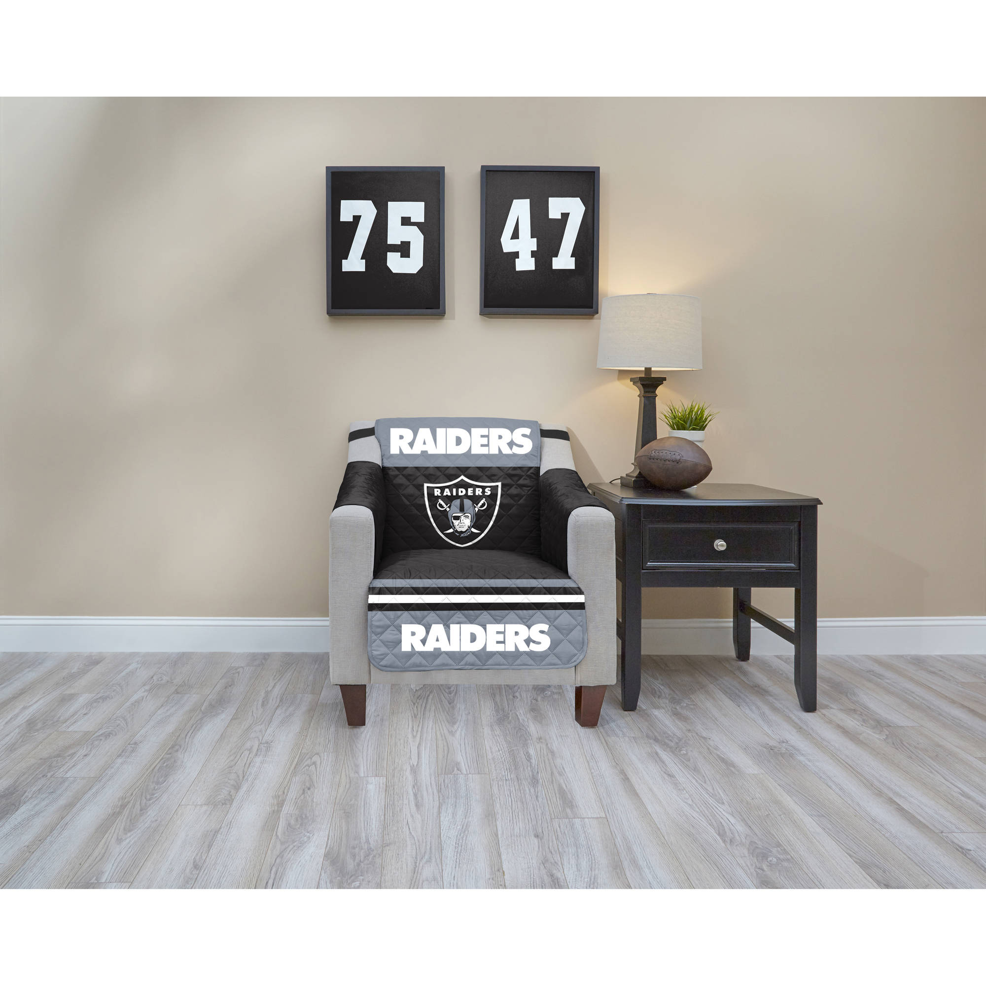 Merveilleux NFL Licensed TPU Lamination Waterproof Furniture Protector, Chair, Oakland  Raiders