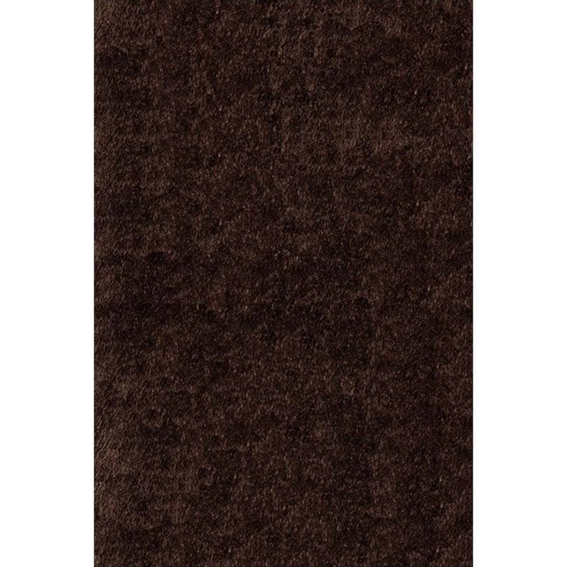 "Momeni Luster Shag 2'3"" X 8' Runner Rug in Brown - image 3 of 3"