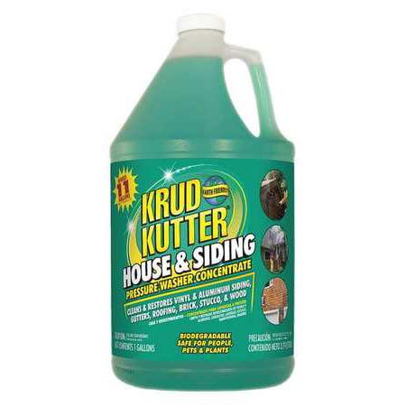 KRUD KUTTER House and Siding Cleaner,1 gal.,Bottle