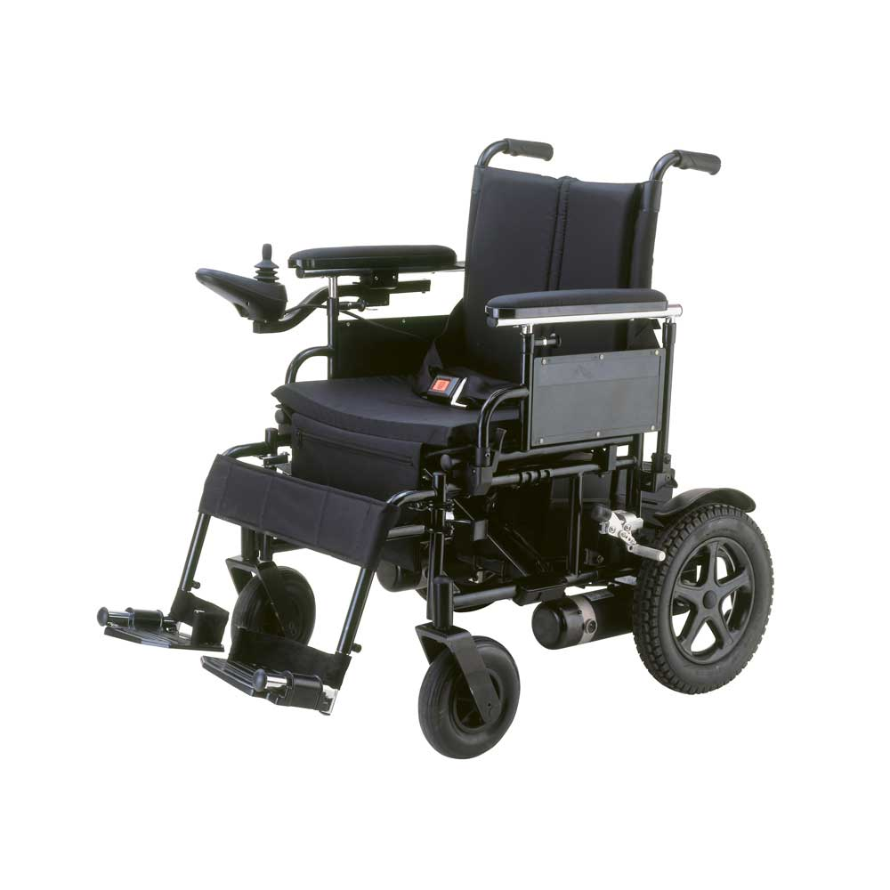 Drive Medical Cirrus Plus Ec - 18 Inches Folding Wheelchair With Flip Back Arms - 1 Ea, Cpn18Fba
