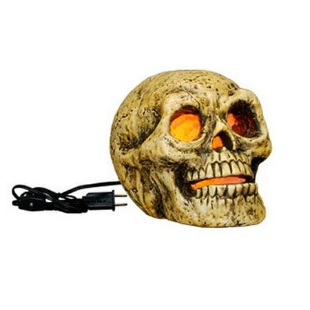 Human Skull Light Up Halloween Display Piece](Halloween Displays Crossword)