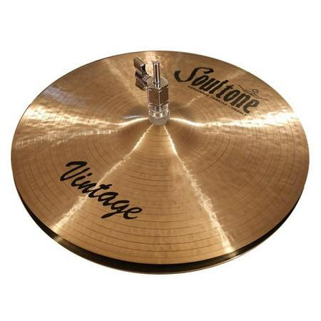 Soultone Cymbals VNT-HHTB13 13 in. Vintage Hi Hat