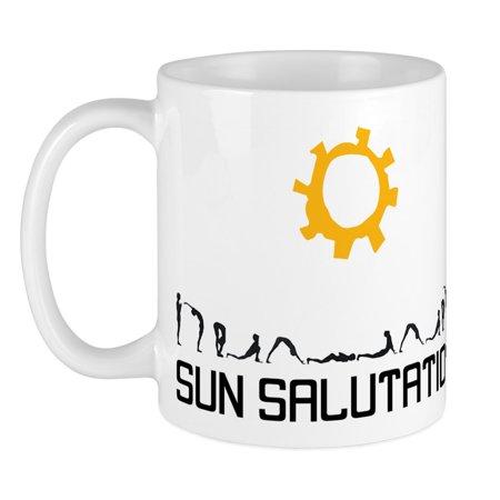 cafepress  sun salutation mug  unique coffee mug coffee