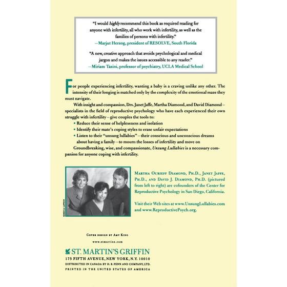 8e166be58e Unsung Lullabies : Understanding and Coping with Infertility - Walmart.com