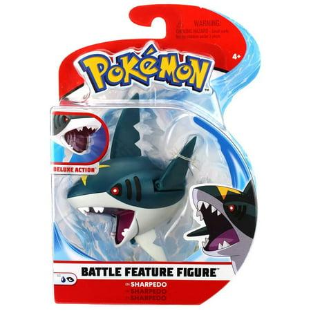 Pokemon Series 2 Battle Feature Figure Sharpedo Figure Battle Frontier Series 2 Figure
