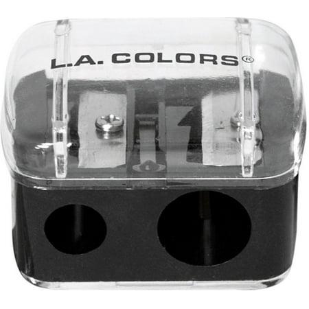 2 Pack - L.A. Colors Dual Pencil Sharpener 1 ea