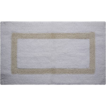 Hotel 100 Percent Cotton Bath Rug