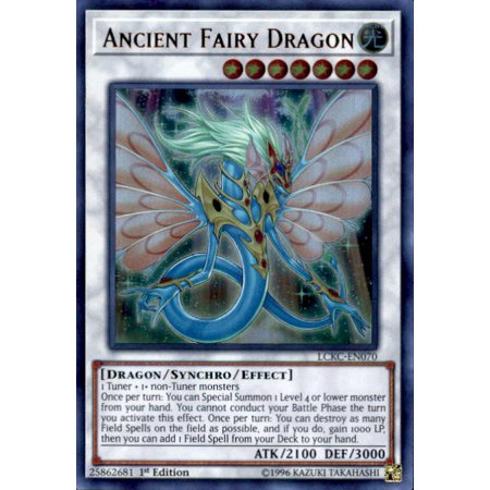 YuGiOh Kaiba Legendary Collection Ancient Fairy Dragon LCKC-EN070