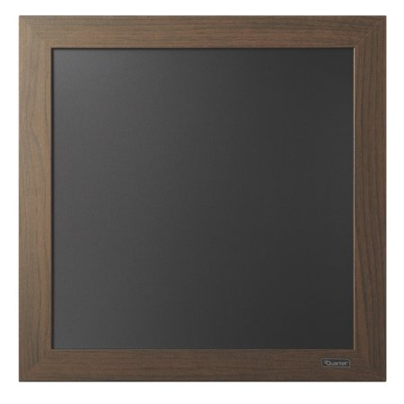 quartet chalkboard 14 x 14 wood finish frame. Black Bedroom Furniture Sets. Home Design Ideas