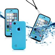 GEARONIC Newest Waterproof Durable Shockproof Dirt Snow Proof Dirt-proof Full Protective Case High Quality Cover for Apple iPhone SE & 5C