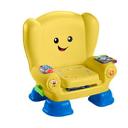 Fisher-Price Laugh & Learn Smart Stages Chair Musical Toddler Toy, Yellow