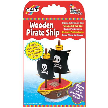 Galt Wooden Pirate Ship - Wooden Pirate Ship