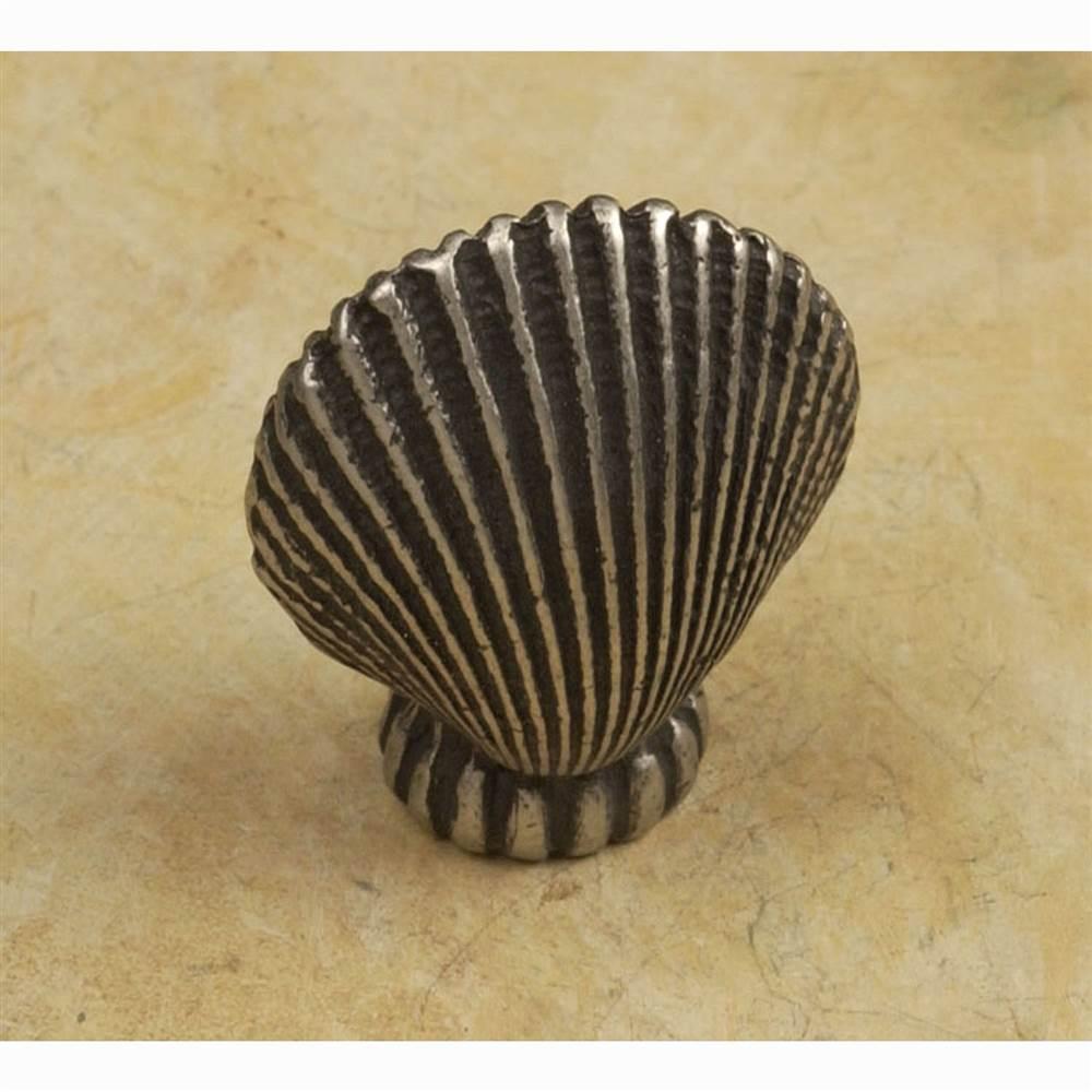 Oceanus knob-sm (Set of 10) (Antique Bronze)