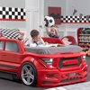 Turbocharged Twin Truck Bed (red)