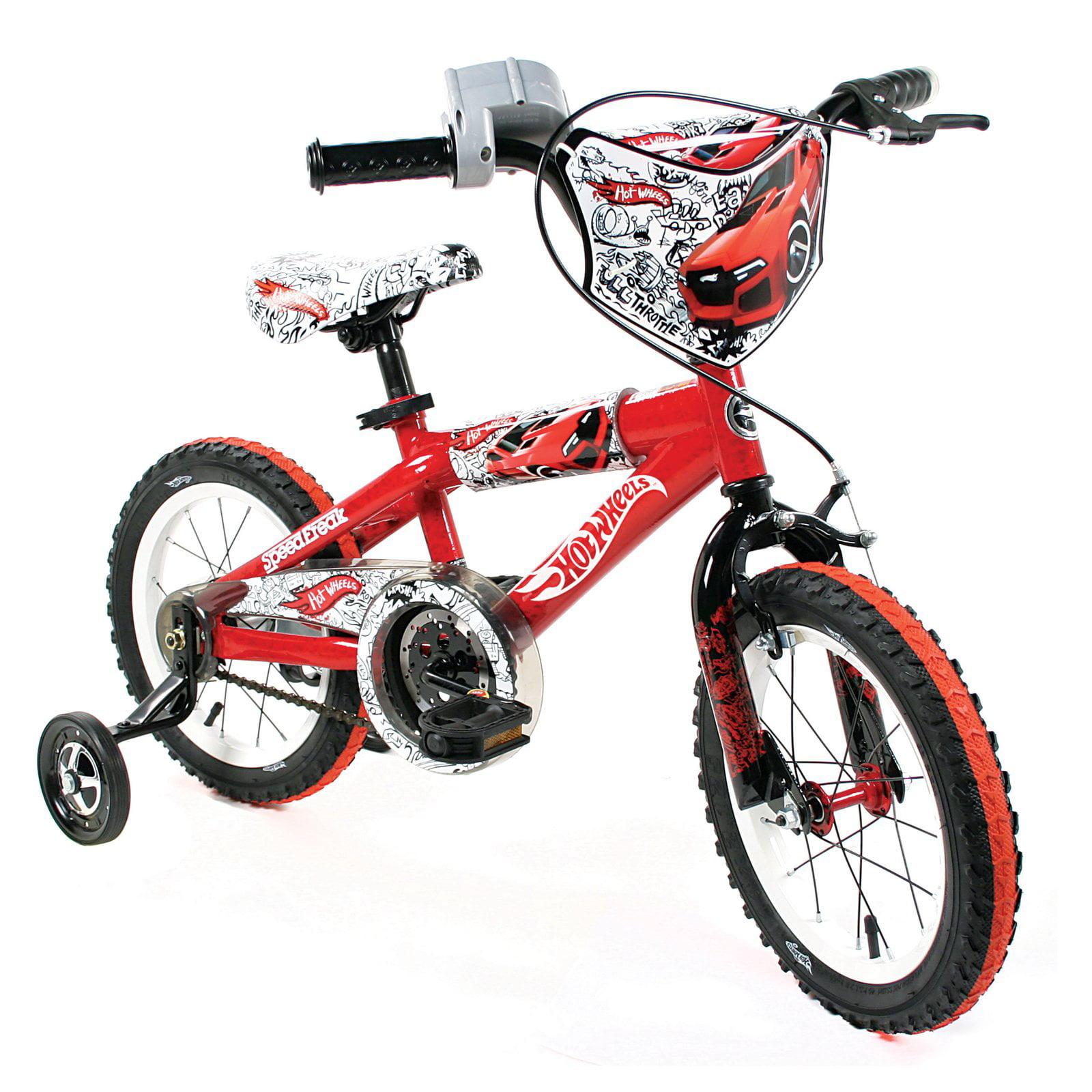 "14"" Hot Wheels Boy's Bike by Dynacraft"