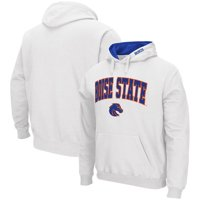 Boise State Broncos Colosseum Arch & Logo Pullover Hoodie - White