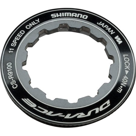 Shimano Dura-Ace CS-R9100 11-Speed Cassette Lockring Dura Ace 10 Speed Cassette
