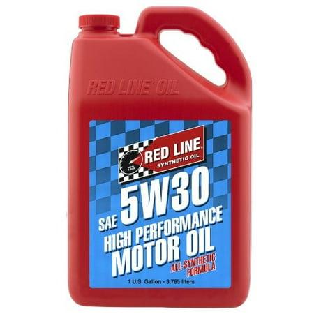 - Redline 5W30 Motor Oil, 1 Gallon