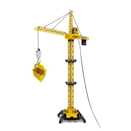 50 in. Tall Wired RC Crawler Crane with Tower Light & Adjustable Height