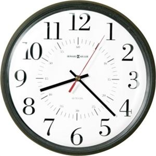 Howard Miller Alton Auto Daylight Savings Wall Clock 625323
