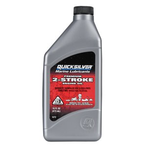 Quicksilver Premium Plus 2-Cycle Outboard Oil, 1pt