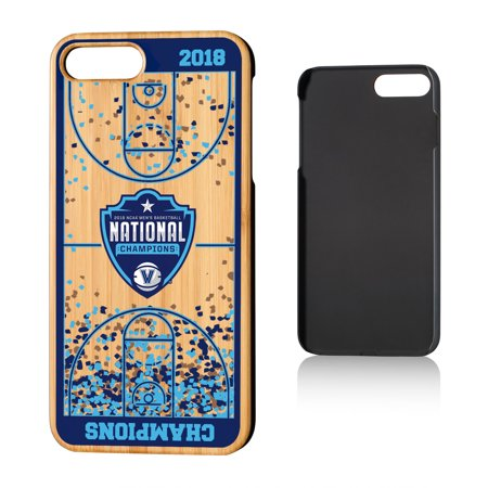 new arrival caf64 f9044 Villanova University Basketball Court Bamboo Case for iPhone 8 Plus / 7 Plus