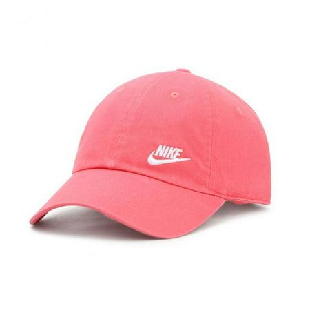 94a71fdf24d Nike - Nike Womens Futura Classic H86 Hat 832597 (Rose Pink 823) -  Walmart.com