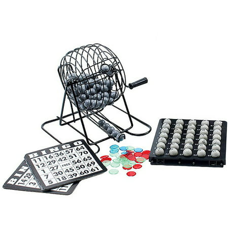 Classic Games Collection Travel Bingo Set - Bingo Game Set