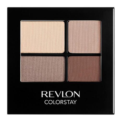 Revlon ColorStay 16 Hour Eye Shadow, Addictive [500] 0.16 oz (Pack of 4)