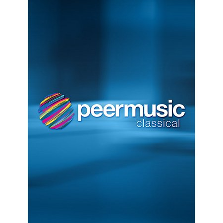 Peer Music Tango in Blue (Violin and Piano) Peermusic Classical Series Composed by Jose Serebrier