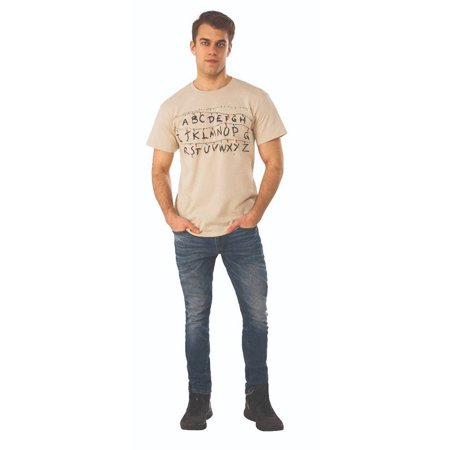 Alphabet Stranger Things Shirt Costume (Alphabet Halloween)