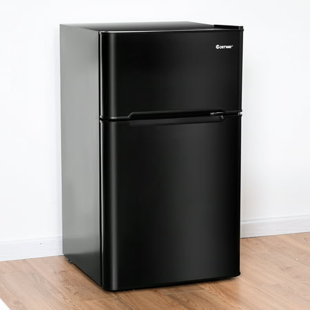 Stainless Steel Refrigerator Small Freezer Cooler Fridge Compact 3.2 cu ft. Unit - image 10 of 10