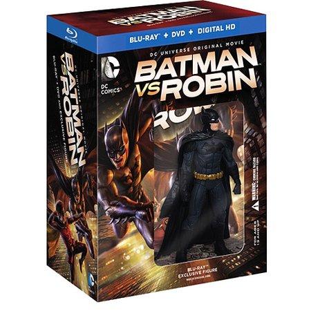 Batman Vs. Robin (Deluxe Gift Set) (Blu-ray + DVD + Digital HD With UltraViolet + Figurine) (Widescreen)