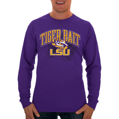 Russell NCAA LSU Tigers Men's Long  T-Shirt