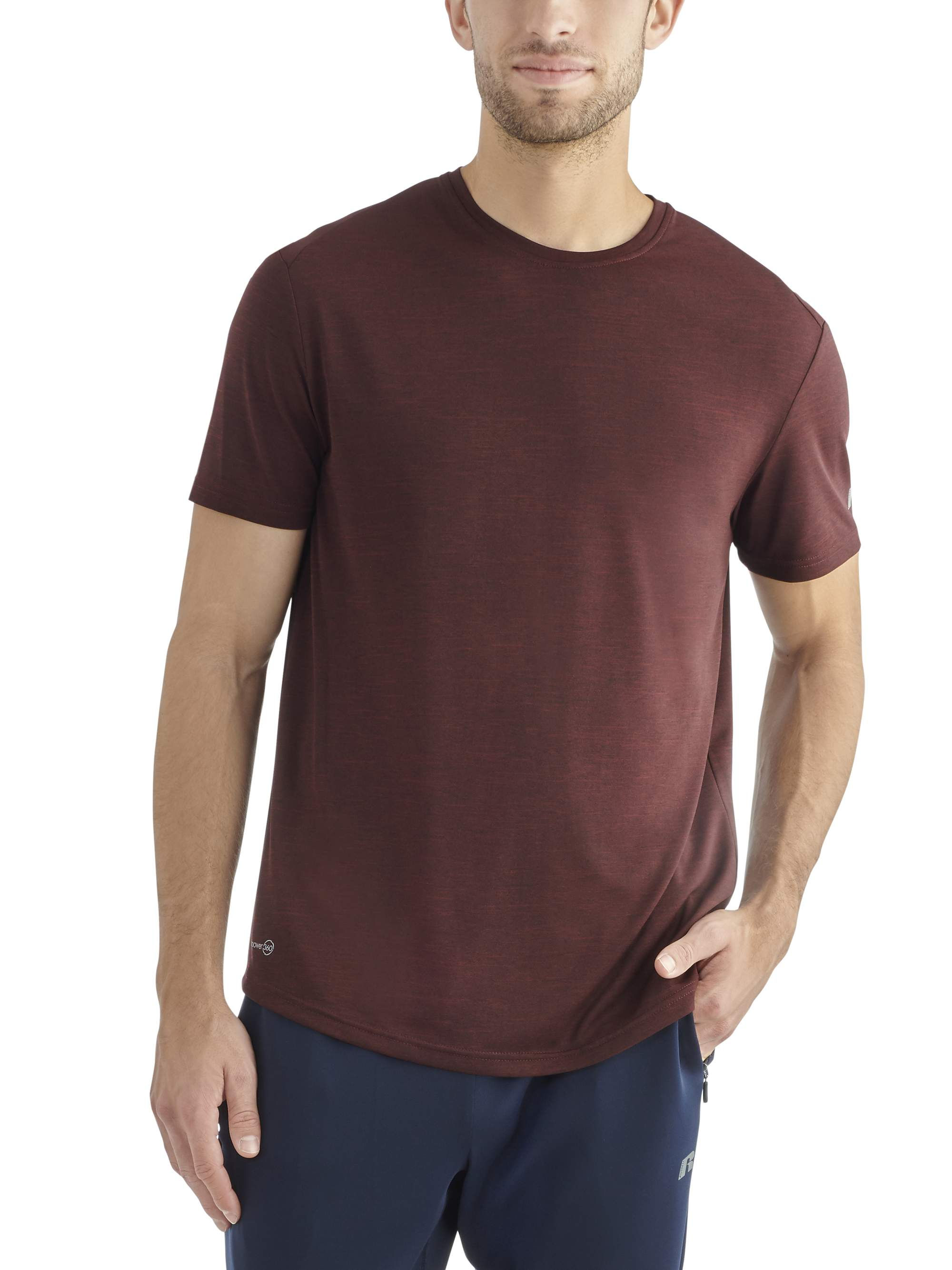 c37072e2 Russell - Russell Mens Core Performance Short Sleeve Tee - Walmart.com