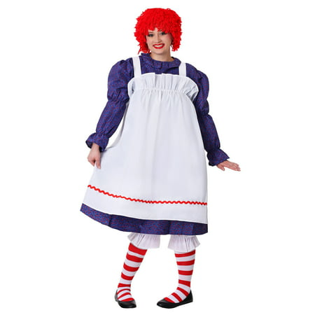Plus Size Classic Rag Doll Costume - Gothic Rag Doll Costume Plus Size