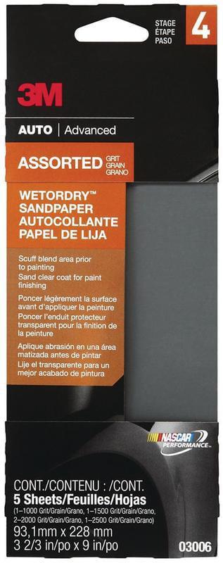 3M Wetordry Automotive Sandpaper by 3M