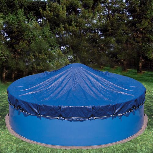 "Heritage Deluxe Winter Cover for 30' x 15"" Oval Pools"