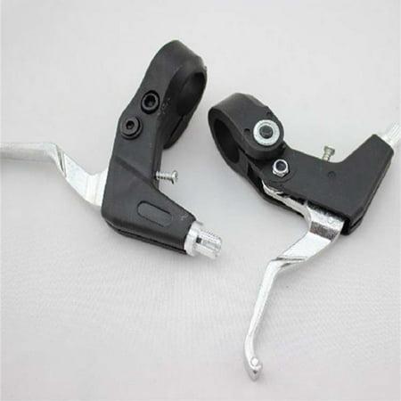 1 Pair MTB Road Bike Handle, Aluminium Alloy Hand Brake Lever Caliper Gear Levers Universal
