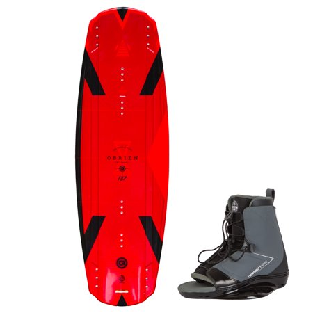 O'Brien Format 142 Centimeter Wakeboard Package with Link 10 to 13 Boot