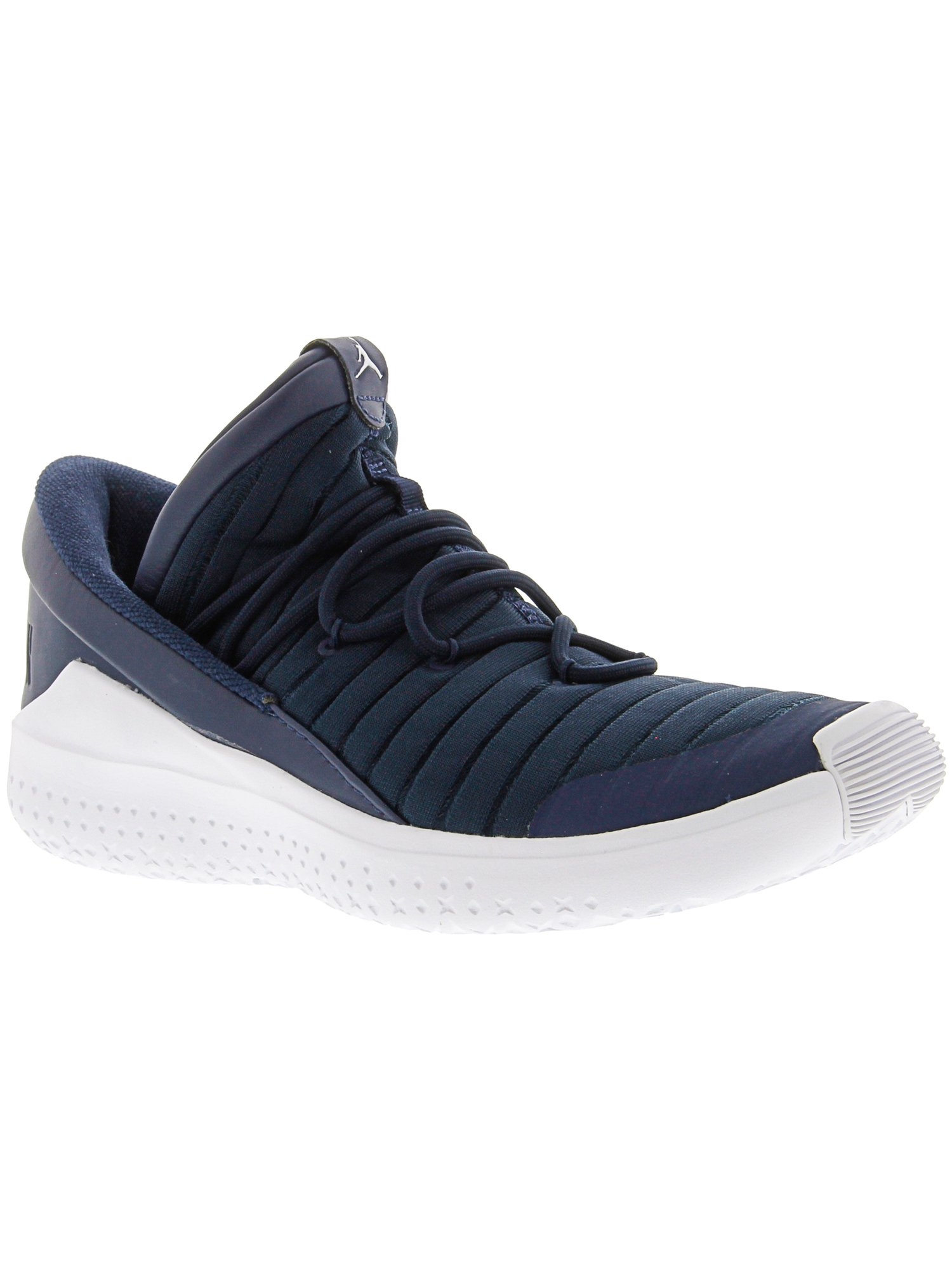 online retailer ab4b8 efb52 Nike Men s Jordan Flight Luxe Midnight Navy   White - Ankle-High Fabric  Basketball Shoe 8M